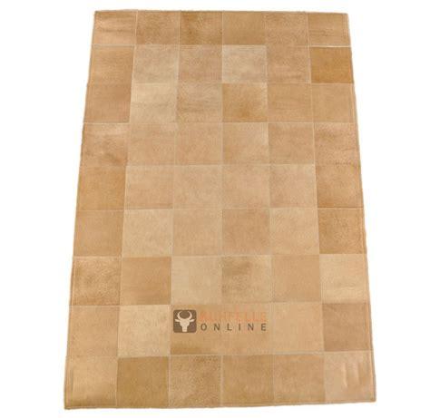 fell teppich beige exklusiver kuhfell teppich beige 180 x 120 cm bei