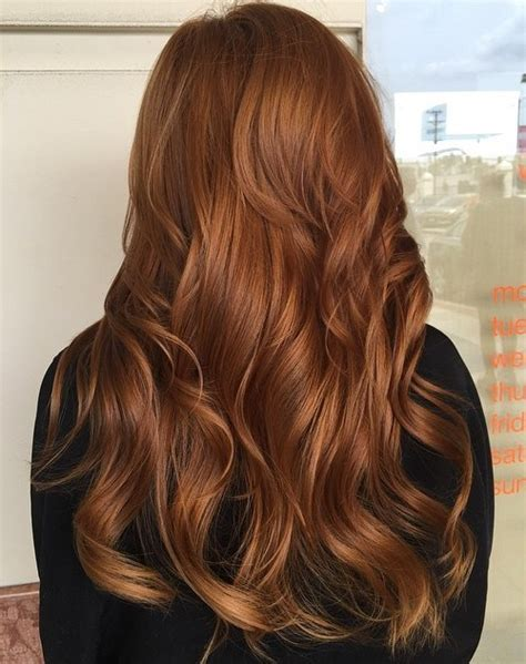 hair styes dye at bottom 40 fresh trendy ideas for copper hair color