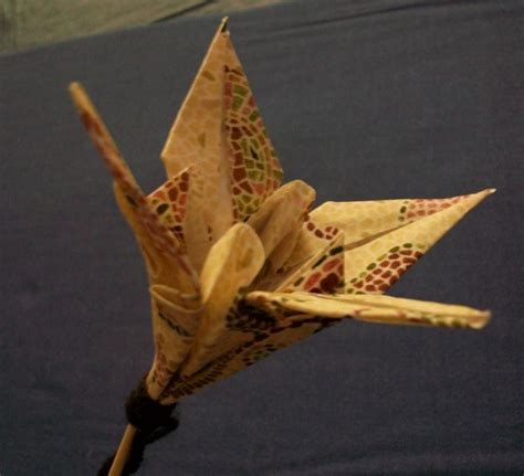 Fabric Origami - fabric origami flower slideshow