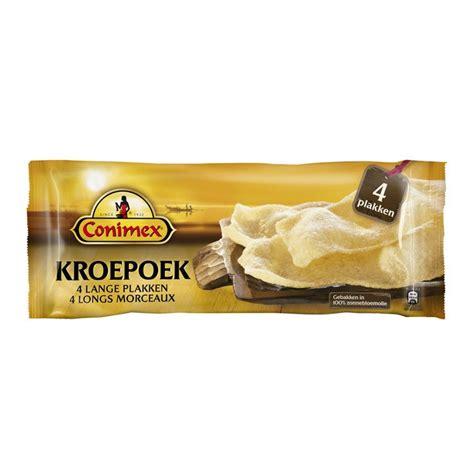 zonnebloemolie door toilet kroepoek conimex plakken kroepoek noten chips