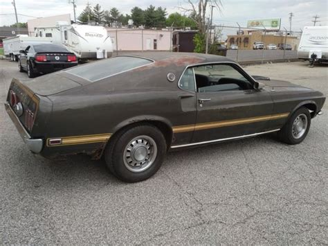 69 ford mustang mach 1 r code original paint numbers all matching classic ford mustang 1969