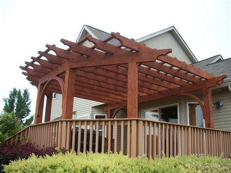 custom made pergola southeastern michigan custom pergolas photo gallery by gm construction in howell mi