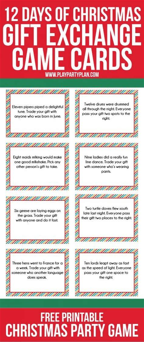 Gift Exchange Card - 25 best ideas about gift exchange games on pinterest gift exchange christmas gift
