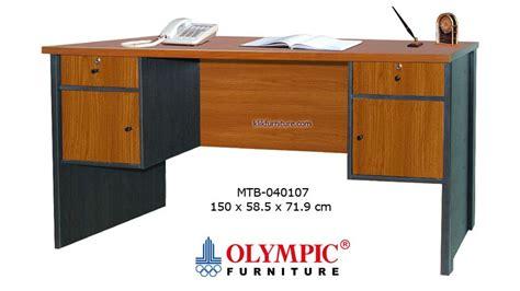 Meja Kerja Olympic Furniture meja tulis olympic 1 biro 040107 harga termurah promo
