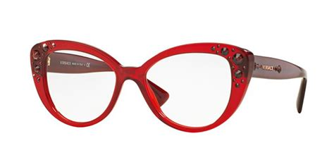 eyewear versace gloss with rhinestones for sale in