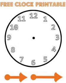 Make A Clock Template by New Year Paper Plate Countdown Clock In The Madhouse