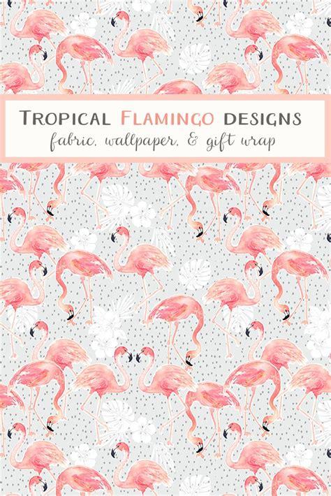 flamingo wallpaper nyc shop trending flamingo designs on fabric wallpaper and