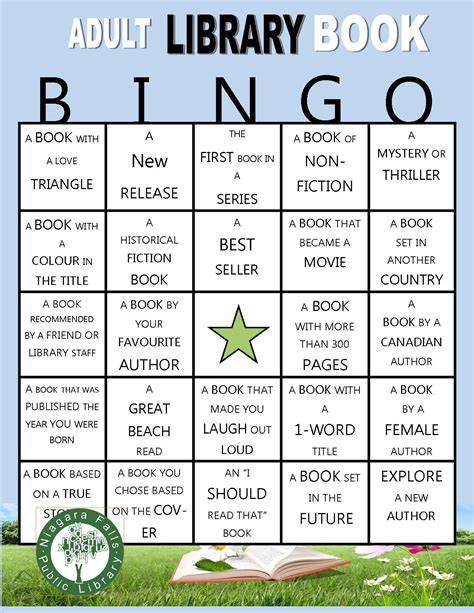Printable Reading Games For Adults | a self directed summer reading game for adults pick up a