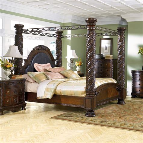 millennium north shore king canopy bed lapeer furniture mattress center canopy beds