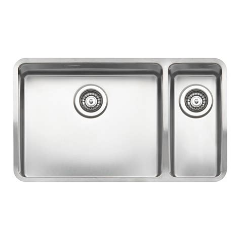Reginox Kitchen Sinks by Reginox Ohio 50x40 18x40 1 5 Bowl Sink Sinks Taps