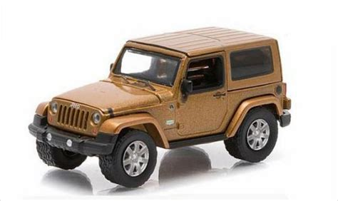 bronze jeep jeep wrangler bronze 2011 greenlight diecast model car 1