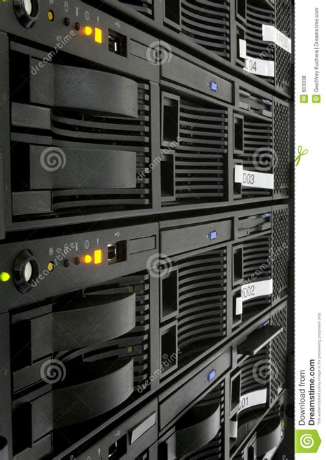 Site Rack Server Rack Royalty Free Stock Photos Image 603038