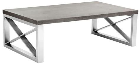 concrete top coffee table catalan concrete top coffee table 100493 sunpan modern home