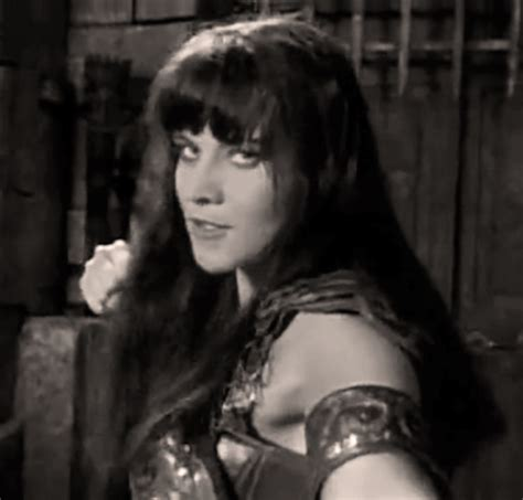 xena groundhog day punch gif on