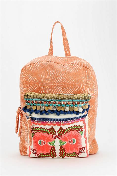 Embellished Backpack ecote embellished backpack urbanoutfitters style