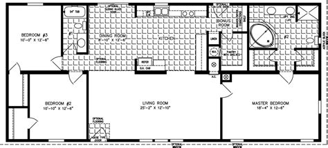 1600 to 1799 sq ft manufactured home floor plans 1500 square house luxamcc floor plans for 1600 sq ft ranch