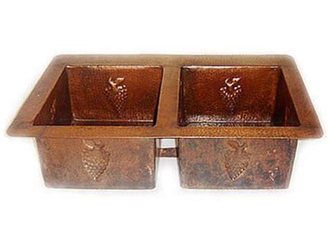Copper Kitchen Sinks For Sale by Copper Kitchen Sink Bowl Grape Design 33x22x9