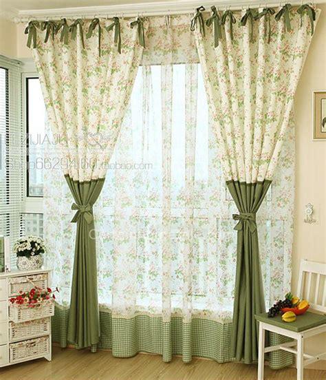 fancy door curtains fancy pastoral flowers and leaf printed eco friendly door