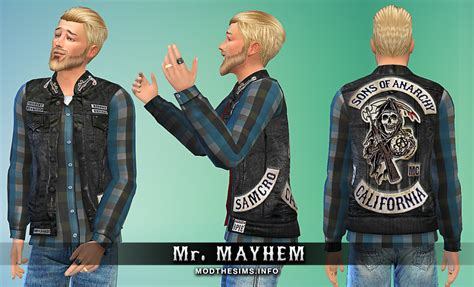 how to style jax teller mod the sims jax teller s last ride sons of anarchy cut