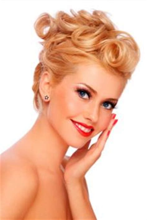 Loose 50s Updo | 50s updo with pin curls lovetoknow