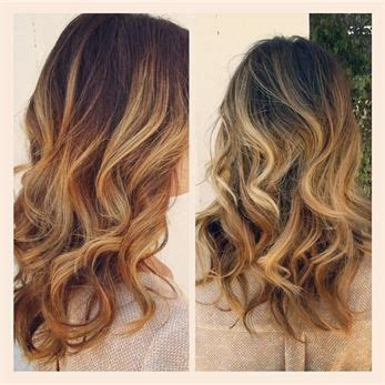 does hair look like ombre when highlights growing out ombre hair color hair sublime com