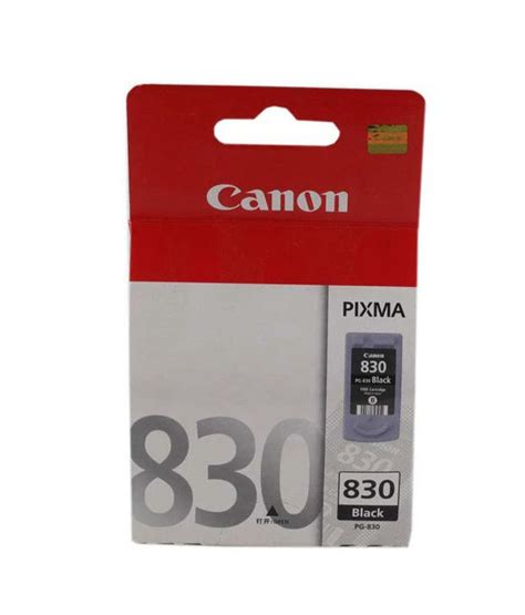 Cartridge Printer Canon Pg 830 canon pg 830 inkjet cartridge black buy canon pg 830