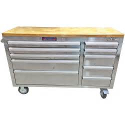 Garden Bench Homebase 56 Quot Frontier Stainless Steel Rolling Tool Cabinet
