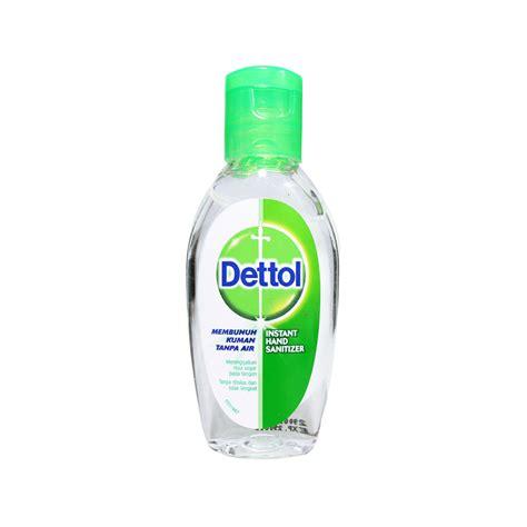 dettol instant hand sanitizer original  ml botol kegunaan efek samping dosis  aturan pakai