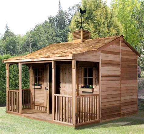 Shed Ranch by Cedarshed Ranchhouse 16x12 Shed Rh1612 Free Shipping