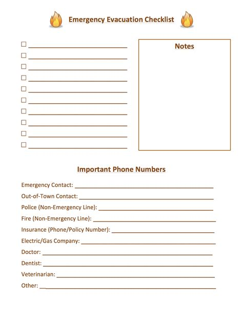 emergency response checklist template list of real phone numbers 2015 2015 greeting cards