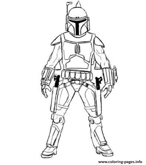 easy coloring pages star wars easy boba fett star wars coloring pages printable