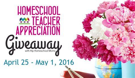 2016 homeschool teacher appreciation events and giveaways hip homeschool moms - Teacher Giveaways 2016