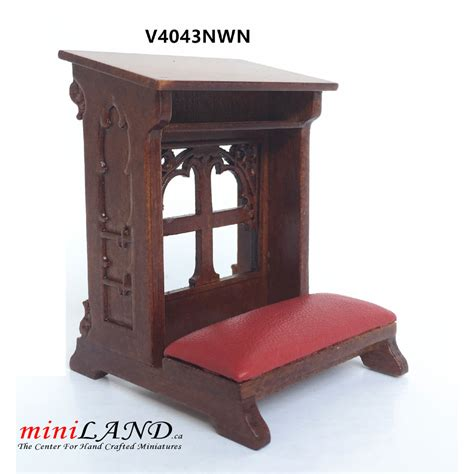 kneeling bench in church kneeling bench church walnut high quality for dollhouse