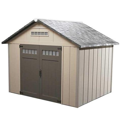 shop homestyles premier gable storage shed common  ft