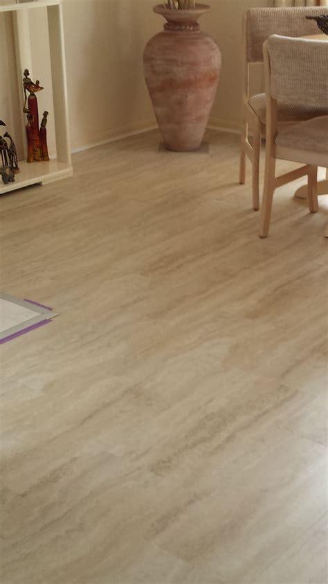 Allure Locking Gen 3 Vinyl tile flooring   Travertine