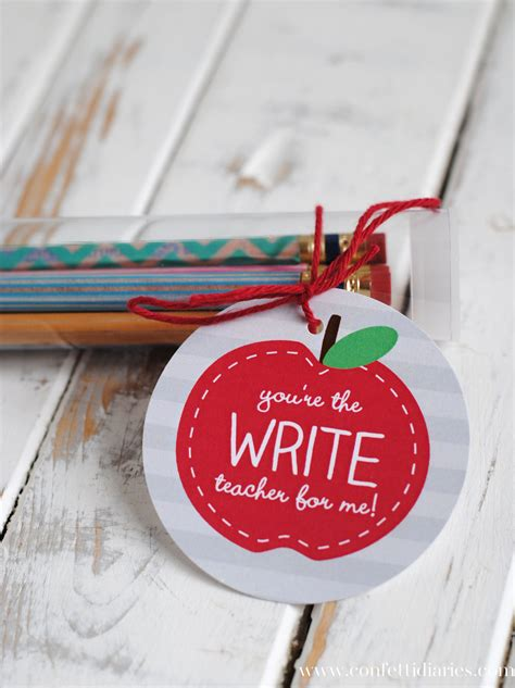 pencil pen gift tags printable back to school washi pencils and free printable apple gift tags