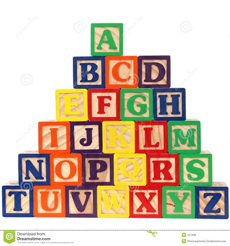 the w h o l e books abc blocks a z stock illustration image of blocks