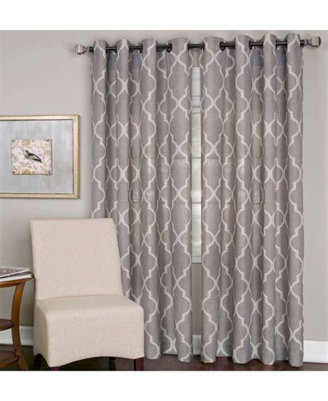 grommet drapes for sliding glass doors elrene medalia 52 quot x 108 quot panel macy s for the sliding