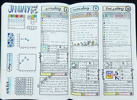 layout of an academic journal bullet journal weekly layout inspiration bullet journal
