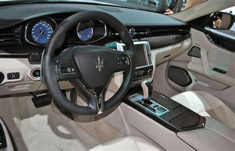 2014 maserati quattroporte interior 2013 detroit 2014 maserati quattroporte interior egmcartech
