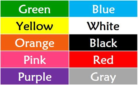 imagenes de on en ingles colores en ingl 201 s descarga la lista de colores