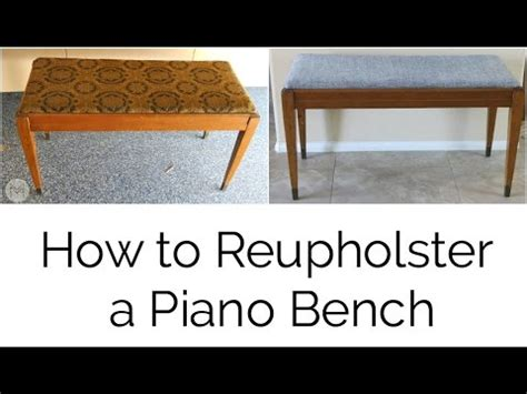 how to reupholster a vanity bench diy reupholster a vanity bench seat