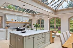 Kitchen Conservatory Designs Luxurious Kitchen Diner Conservatory Traditional