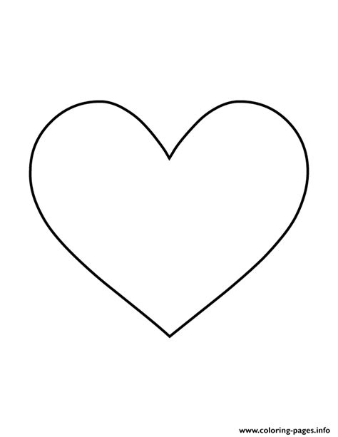 heart shape colouring coloring pages printable