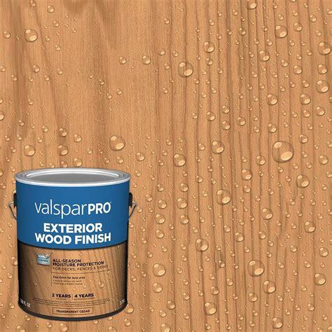 valspar pro pre tinted cedar transparent exterior stain