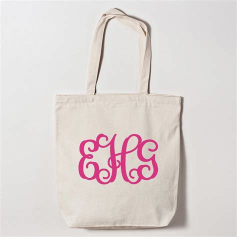 Monogramme Toto by Personalized Monogrammed Tote Bag Wedding Bags
