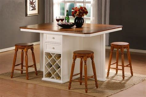 counter height kitchen table island home design and