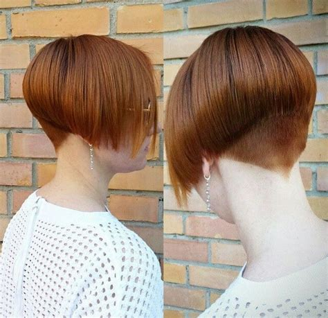 cutting nape shorter than natural hairline 478 best bobs images on pinterest