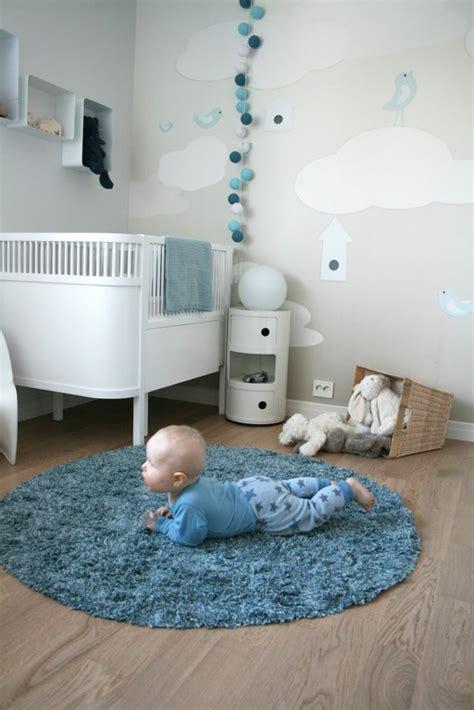 babyzimmer wolken niedliche babyzimmer wandgestaltung inspirierende