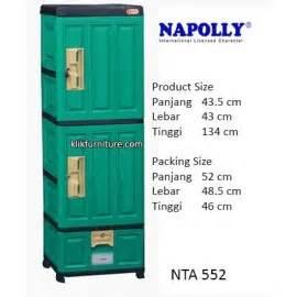 Lemari Plastik Gantung Akako container plastik napoly harga murah hanya disini